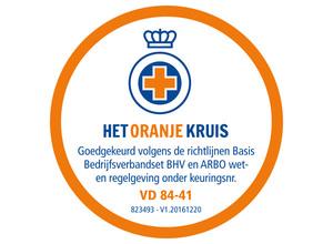 Nieuwe verbandrichtlijnen Het Oranje Kruis