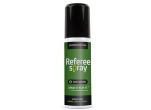 Utermöhlen ontwikkelt Referee Spray voor voetbalscheidsrechters