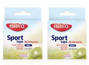 Utermöhlen introduceert HeltiQ Sporttape vanaf heden in doosje!